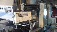Офсетная печатная 2-красочная машина Miller TP74