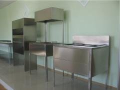 Медицинская мебель из нержавеющей стали