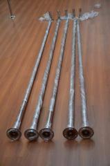 Pole (pole) for pole dance dynamic (two regime)