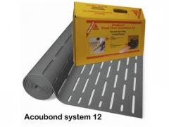 Substrate sound-absorbing Acoubond