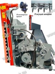 Rape table of PR 6-10 with a hydraulic actuator