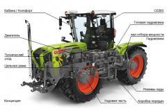 Тракторы XERION 3800/3300