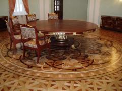 Art parquet floor (palace parquet)
