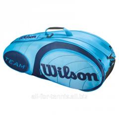 Bag for tennis of Wilson Team Blue 6 Pack Bag (6