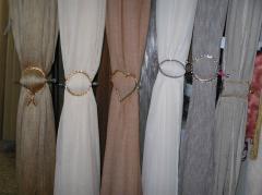 Заколки для штор разных размеров и форм, Винница