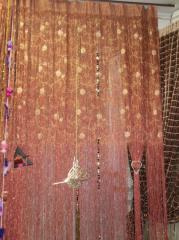 Curtains from beads, Vinnytsia