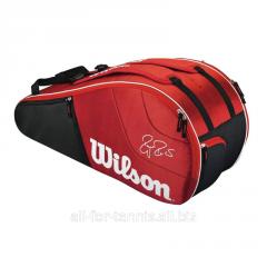 Bag for tennis of Wilson Federer Team 6 Pack Bag