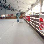 Mobile ice skating rink