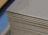 Corrosion-proof rolled sheet of an austenitic