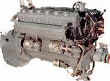Marine diesels of type 3D12, 3D12A are intended