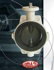 Затворы дисковые с защитным покрытием производства