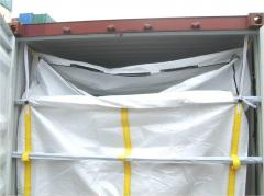 The liner of Beg 20 foot, Liner Bag 20, an insert in a sea container 20 f