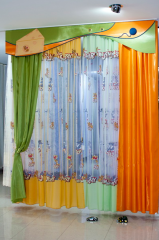 Fabrics for children's curtains