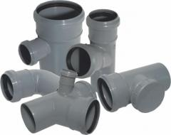 Fitting for sewer pipes
