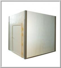 Cupboard drying chamber with single loading to 400