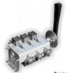 Switches - razjediniteliya of a series of BP-32P,