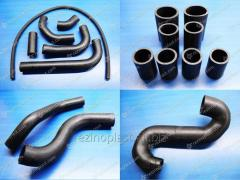Branch pipes rubber cooling systems