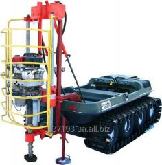Small-sized UBShM-1-13 drilling rig
