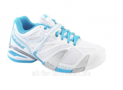 Ennis Babolat Propulse 3 white sneakers