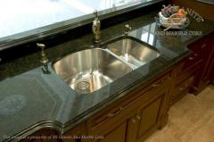 Table-tops under a sink