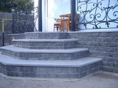 Granite steps, production Ukraine