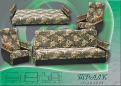 Set of upholstered furniture