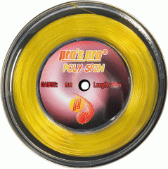 Tennis string of Pro'S Pro Poly SPIN 1.28mm