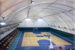 Tennis courts, gyms