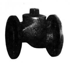 Клапан обратный подъемный из серого чугуна 16ч3р,п