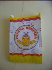 Papírové sáčky na potraviny a nepotravinářské