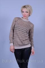 Sweater beige Holes
