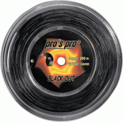 String for the Pro S Pro Black Out 200m tennis