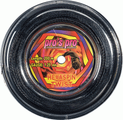 String for the Pro'S Pro Hexaspin Twist