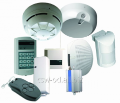 Control devices of the security fire warning,