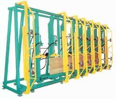Пресс вертикальный для склеивания бруса ПВГ-6500