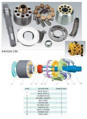 Piston for hydraulic pumps, hydromotors (Italy)