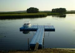Pontoons from PVC