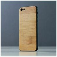 Original panelka from a natural tree for iPhone