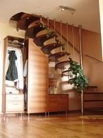 Лестницы комбинированные Г-образная в плане с