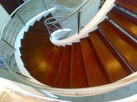 Лестницы изготовление. Железобетонные спиральные