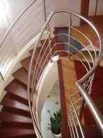 Лестницы бетонные. Железобетонные спиральные
