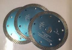 Sukhorez, diamond disks for cutting of granite,