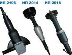 Pneumatic grinding PShM-63, PShM-125, PM-150,