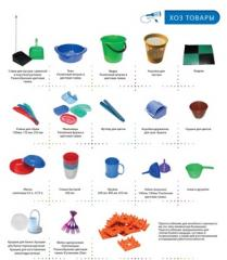 Household goods. basins, buckets, hangers, covers