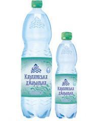 Природная минеральная вода, слабогазированная