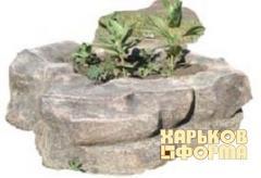 Формы Цветник Каменный цветок