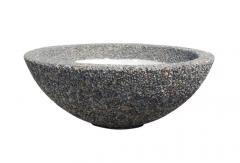 Вазон Олимп из натурального камня,фактура