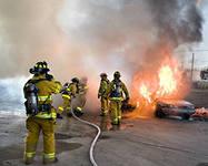 Бишофит - средство пожаротушения