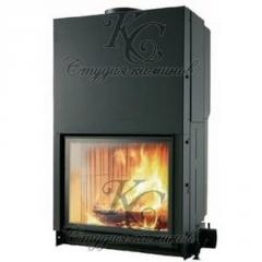 Fire chamber chimney CRISTAL 76 with natural