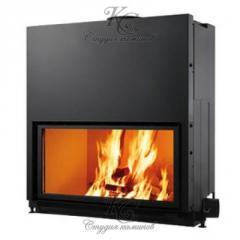 Fire chamber chimney FLAT 100